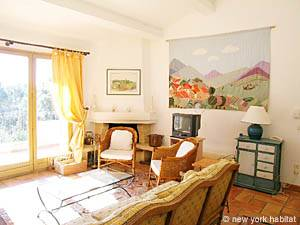 South of France - Provence - 4 Bedroom - Villa accommodation - living room (PR-603) photo 11 of 13