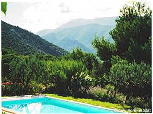 South of France Accommodation: 4 Bedroom Rental in Mollans sur Ouveze, Avignon Region (PR-603)