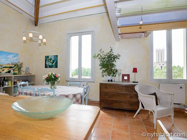 South of France - Provence - 5 Bedroom - Duplex apartment - living room (PR-919) photo 3 of 9