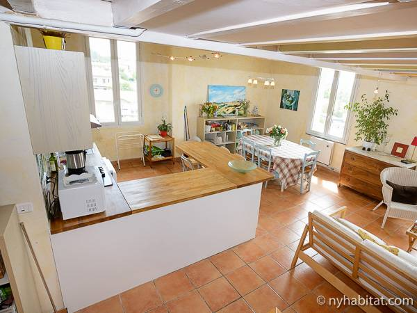 South of France - Provence - 5 Bedroom - Duplex apartment - kitchen (PR-919) photo 1 of 3