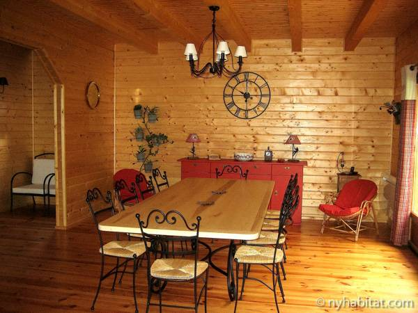 South of France - French Alps - 4 Bedroom - Chalet accommodation bed breakfast - living room (PR-1017) photo 1 of 3