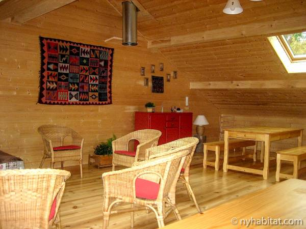 South of France - French Alps - 4 Bedroom - Chalet accommodation bed breakfast - living room (PR-1017) photo 3 of 3