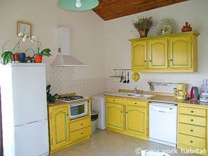South of France - Provence - 2 Bedroom - Villa accommodation - kitchen (PR-1034) photo 1 of 6