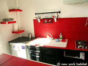 South of France - Provence - Alcove Studio apartment - kitchen (PR-1070) photo 4 of 5