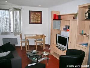 Sud de la France - Provence - T2 logement location appartement - séjour (PR-1088) photo 2 sur 4