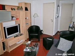 Sud de la France - Provence - T2 logement location appartement - séjour (PR-1088) photo 3 sur 4