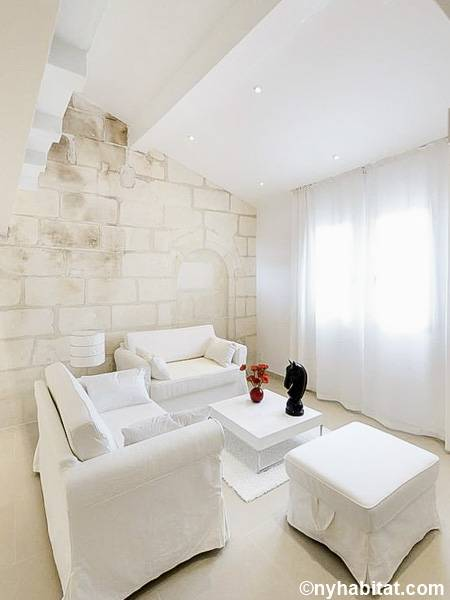 South of France - Provence - 3 Bedroom - Loft apartment - living room (PR-1237) photo 1 of 6