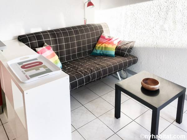 South of France - Montpellier Region - 1 Bedroom apartment - living room (PR-1238) photo 1 of 3