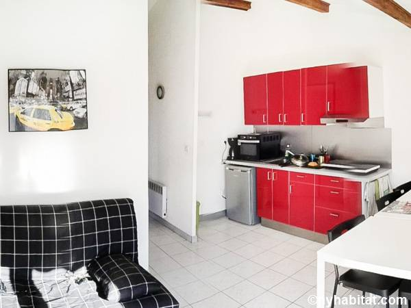 South of France - Montpellier Region - 1 Bedroom apartment - kitchen (PR-1238) photo 2 of 2