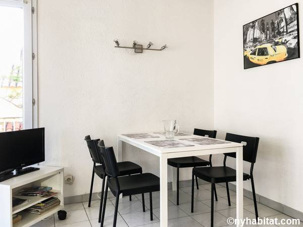 South of France - Montpellier Region - 1 Bedroom apartment - living room (PR-1238) photo 2 of 3