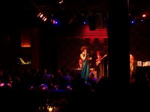 Foto del escenario en el Joe's Pub, Nueva York