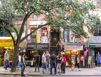 East Village, en Manhattan, Nueva York