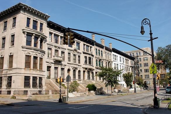 Foto de las casas de Hamilton Heights en Upper Manhattan
