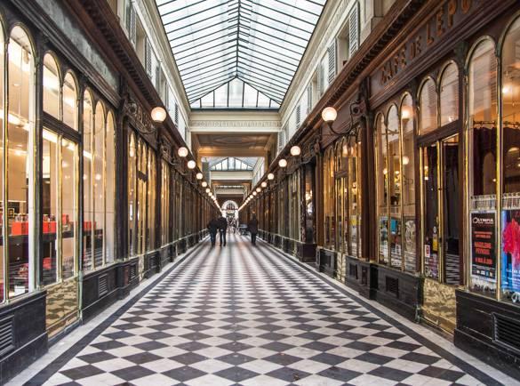 Fotografía de Galerie Vero-Dodat, un pasaje de París