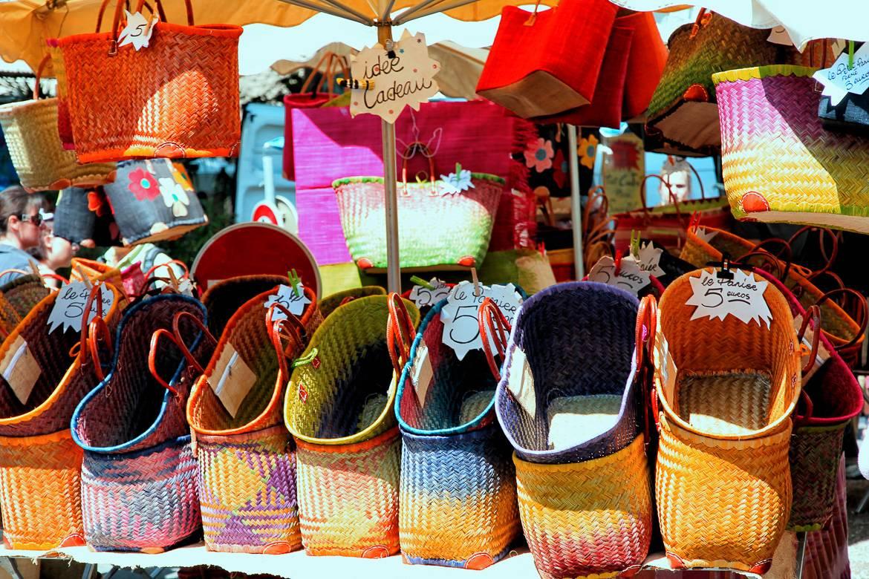 Imagen de cestas hechas a mano