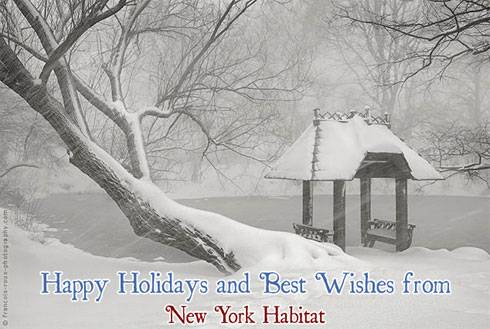 Happy Holidays and New Year from New York Habitat