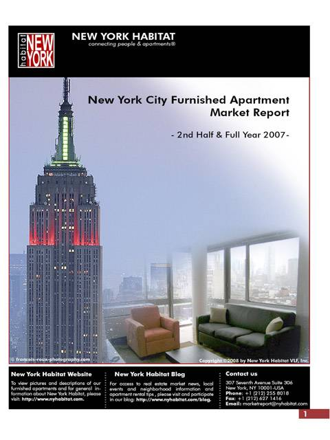 2007 New York Furnished Apartment Market Report is published