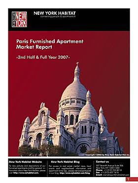 Read the 2007 Paris Furnished Apartment Rental Market Report