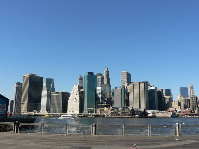 Fulton Ferry Landing Brooklyn New York