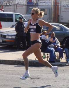 Paula Radcliff at the New York City Marathon pict
