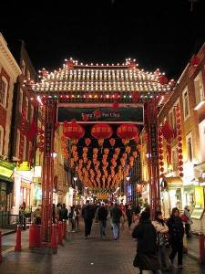 Chinatown in London. Photo by Michael Reeve