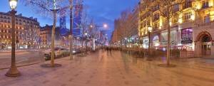 Photo of Paris' Champs-Elysees during winter by Benh Lieu Song