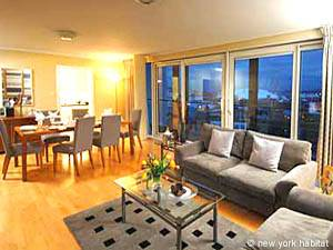 London Accommodation 2-bedroom rental in Tower Hamlets- Canary Wharf (LN-625)