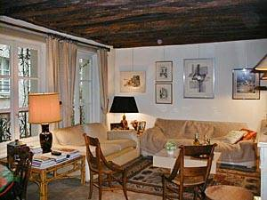 Paris Accommodation: 1-bedroom rental in St. Michel (PA-1899) Pict