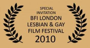The London Gay and Lesbian Film Festival Logo