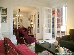 Paris Apartment: 2-bedroom Vaction Rental in Invalides - Tour Eiffel (PA3443)
