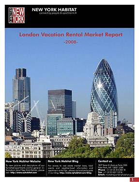 2008 London Vacation Rental Market Report Launched