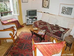 Paris Accommodation: 1-bedroom in Pere Lachaise PA-2824 photo