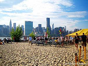 Relax at Water Taxi Beach – NYC