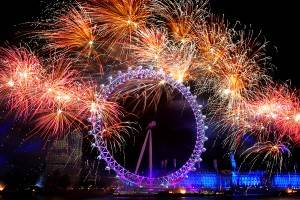 Celebrate the New Year in London