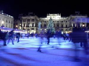 The London Somerset House ice skating sessions (Photo by Michael Pead)