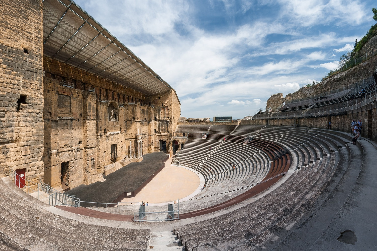 Image of Roman open-air Theatre in Orange, France.