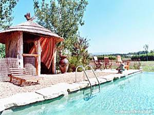 Photo of Pool at South France Vacation Rental (pr-939)