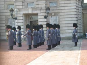 London Attraction: Changing of the Guard