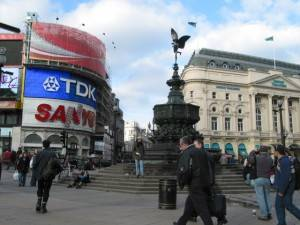 London Attraction: Piccadilly Circus