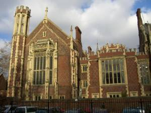 London Attraction: Lincoln's Inn