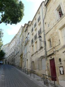 Historic Streets of Montpellier, France