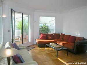 Paris Apartment 1-bedroom in Porte Maillot, Paris (PA-2966)