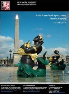 2010 1st half Paris Furnished Apartment Market Report