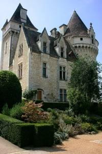 Photo of Château des Milandes, Dordogne, France. Former home of Josephine Baker