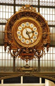 Clock at the Musee d Orsay