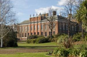 Kensington Palace, the historic future home of William and Kate