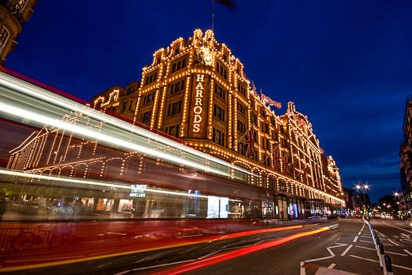 Picture of Harrods in Kensington, London