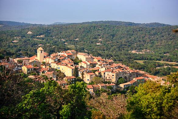 Image of Ramatuelle in the French Riviera