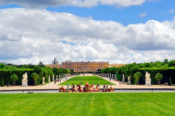 Image of the Gardens of Versailles