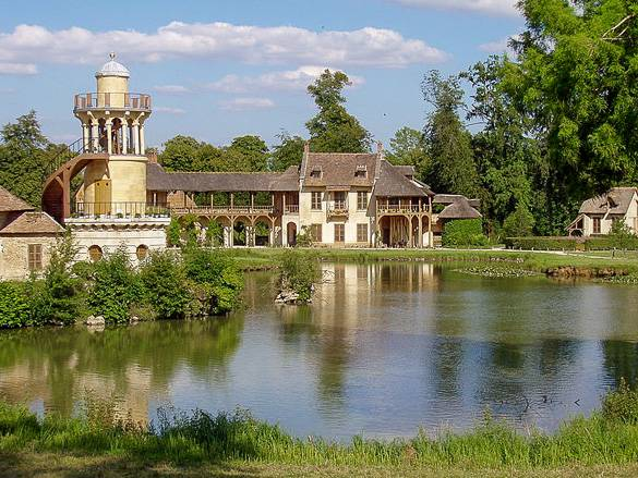 The Estate of Marie-Antoinette in the Gardens of Versailles